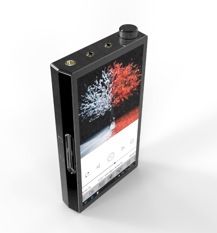 便携式耳机放大器_音律美W0 5寸X86 win10播放器